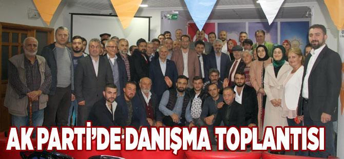 AK Parti'de Danışma Toplandı