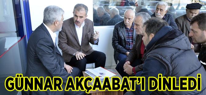 Adnan Günnar Esnaf Ziyareti Gerçekleştirdi.