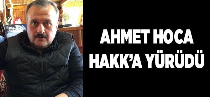 Ahmet Hocayı Kaybettik