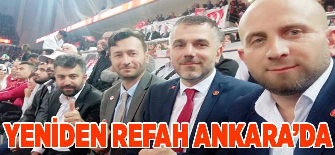 Yeniden Refah Ankara'da