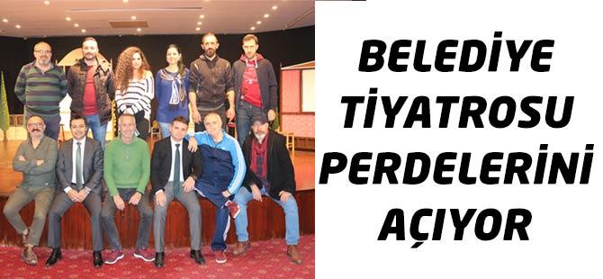 Belediye Tiyatrosu Perdelerini Açıyor