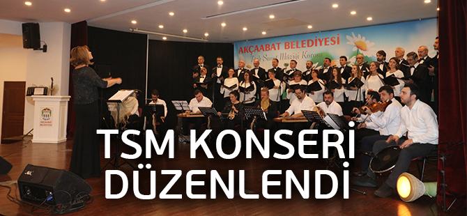 TSM Konseri Düzenlendi
