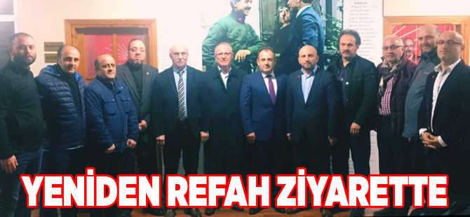 YRP'den CHP'ye Hayırlı Olsun Ziyareti