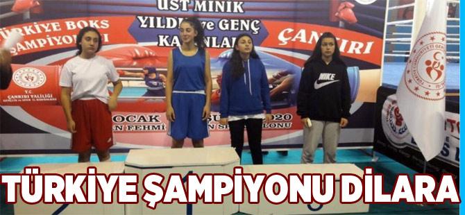 Dilara Türkiye Şampiyonu Oldu