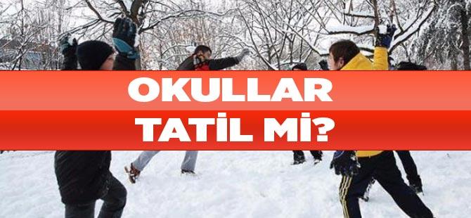 Okullar Tatil Mi?