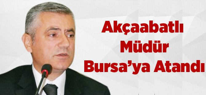 Akçaabatlı Müdür Bursa'ya Atandı