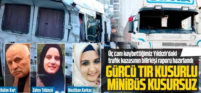 O Kazada Kusurlu Gürcü Sürücü