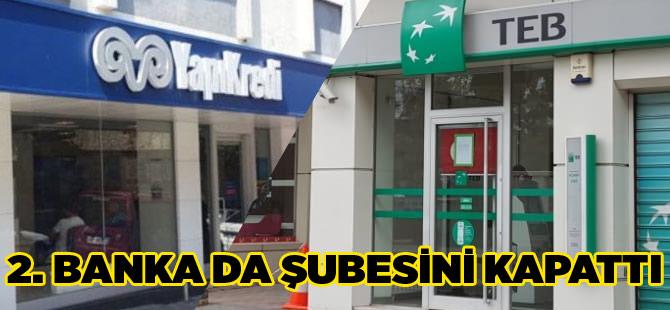 Akçaabat't 2. Banka Şubesi de Kapattı