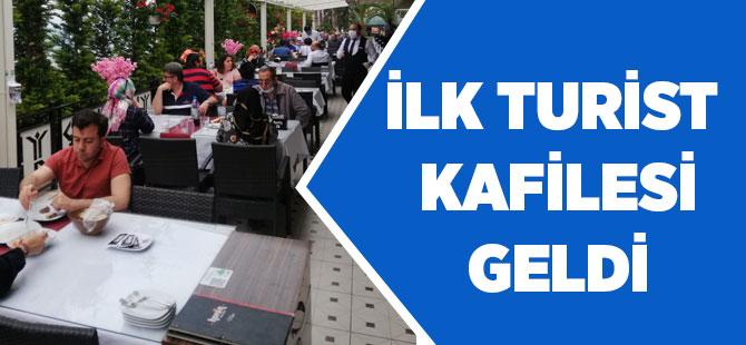 Trabzon'a İlk Turist kafilesi Geldi