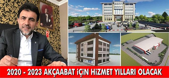 """Altıntepe """"2020-2023 Hizmet Yılı Olacak"""""""