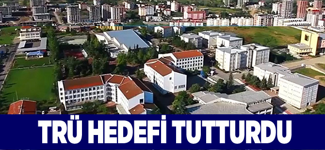Trabzon Üniversitesi Hedefi Tutturdu