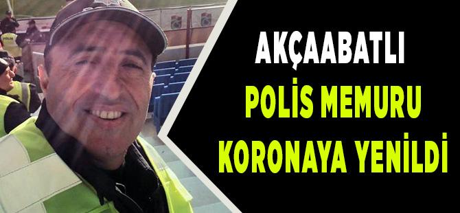 Polis Memuru Koronaya Yenildi