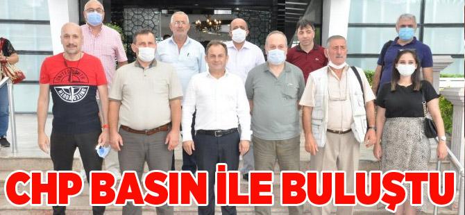 Akçaabat CHP, Gazetecilerle Kahvaltıda Buluştu