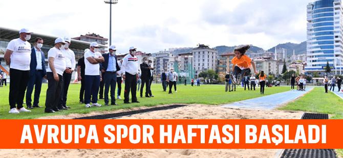 Avrupa Spor Etkinlikleri Haftası Başladı