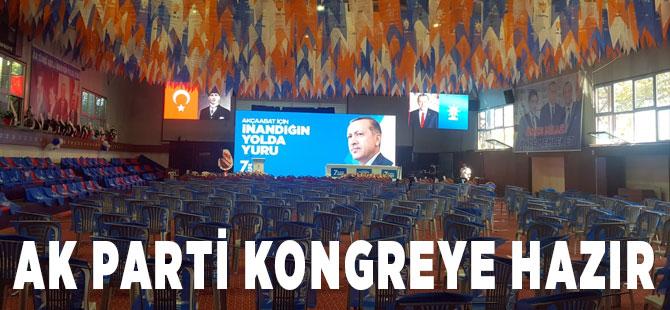 Kongre İçin AK Parti Hazır
