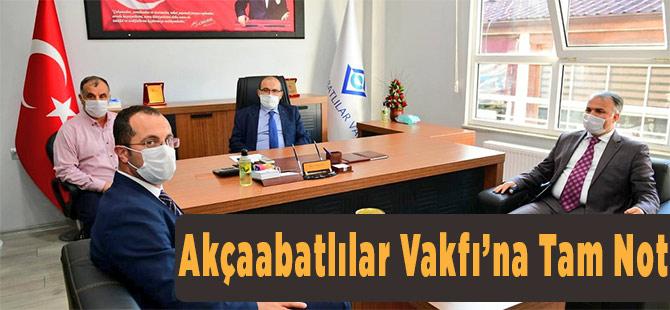 Vali'den Vakfa Ziyaret