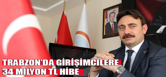 Trabzon'da girişimcilere 34 milyon TL hibe