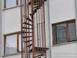 İlginç Yangın Merdiveni