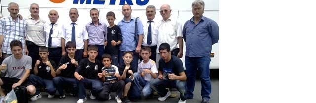 Minik Boksörler Nevşehirde