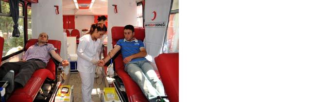 Akçaabatta Kan Bağışı