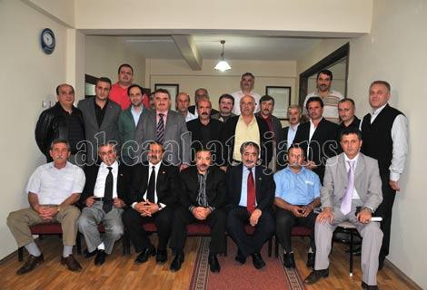 İlçe Başkanlar Toplandı
