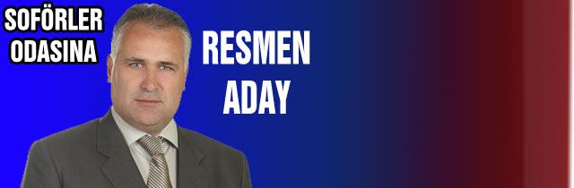 Ali Şentürk Resman Aday