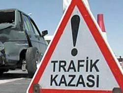 Trabzonda Trafik Kazası:1 Ölü