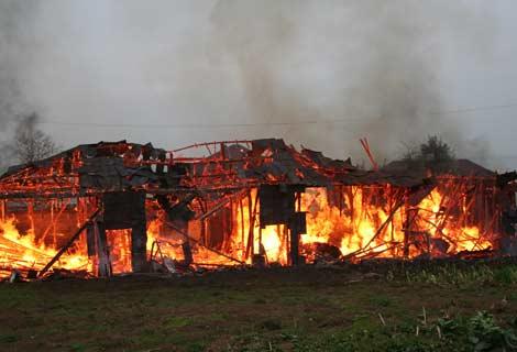 Yeni Mahallede Korkutan Yangın