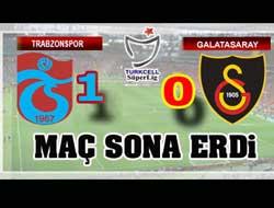 Trabzonspor 1 Galatasaray 0