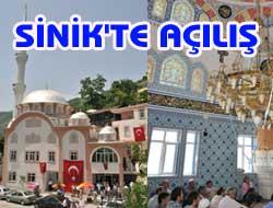 Şinikte Yeni Cami İbadete Açıldı