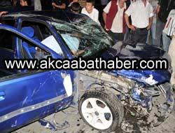 Söğütlüde Trafik Kazası
