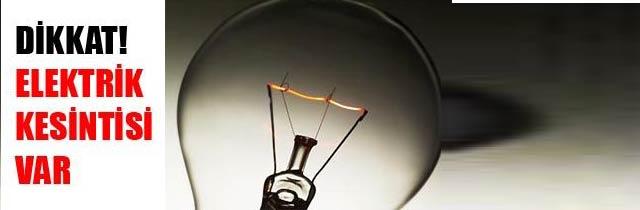 Akçaabat ilçesinde elektrik kesintisi gerçekleştirilecek.