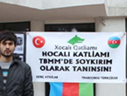 Hocalı Katliamına Protesto
