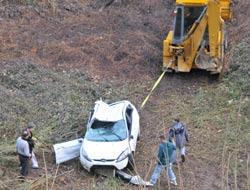 Yıldızlı'da Trafik Kazası