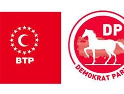 DP-BTP İttifak Yaptı