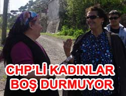 CHPli Kadınlar Köylerde