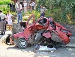 Salacıktaki Trafik Kazası