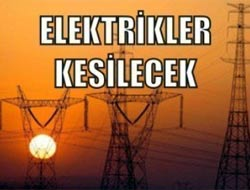 Akçaabat'ta Elektrik Kesintisi