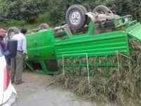Doğanköyde Trafik Kazası