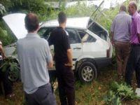 AK Parti Belde Başkanı Kaza Geçirdi