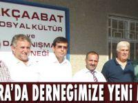 Ankara Akçaabat Sosyal Kültür ve Dayanışma Derneği yeni binasına taşındı