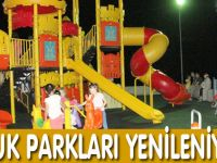 Akçaabat Çocuk Parklaı Yenileniyor