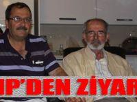 CHPAkçaabat İlçe Teşkilâtı Başkanı Mustafa Nadir'den Ziyaret