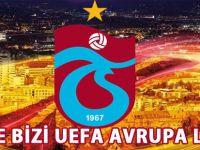 Trabzonspor deplasmanda galip gelmeyi başardı