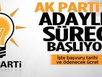AK Parti'de, önümüzdek yerel seçimler için adaylık başvurusu