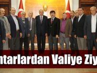 Akçaabat Muhtarlar Derneği Başkanı Gedikli, Vali Öz'ü Ziyaret Etti