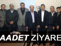 Saadet'ten Sendikaya Ziyaret