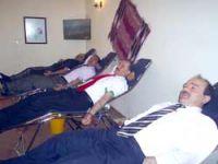 Sendikadan Kan bağışı