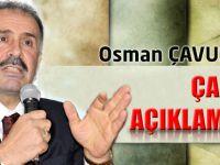 Osman Çavuş'ta Yine Gündem Yaratacak Açıklamalar