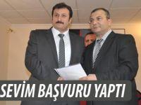 Ayhan Sevim de Akçaabat belediye Başkanlığı için aday adayı oldu.